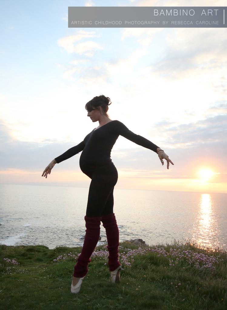 Pregnancy photographer Cornwall