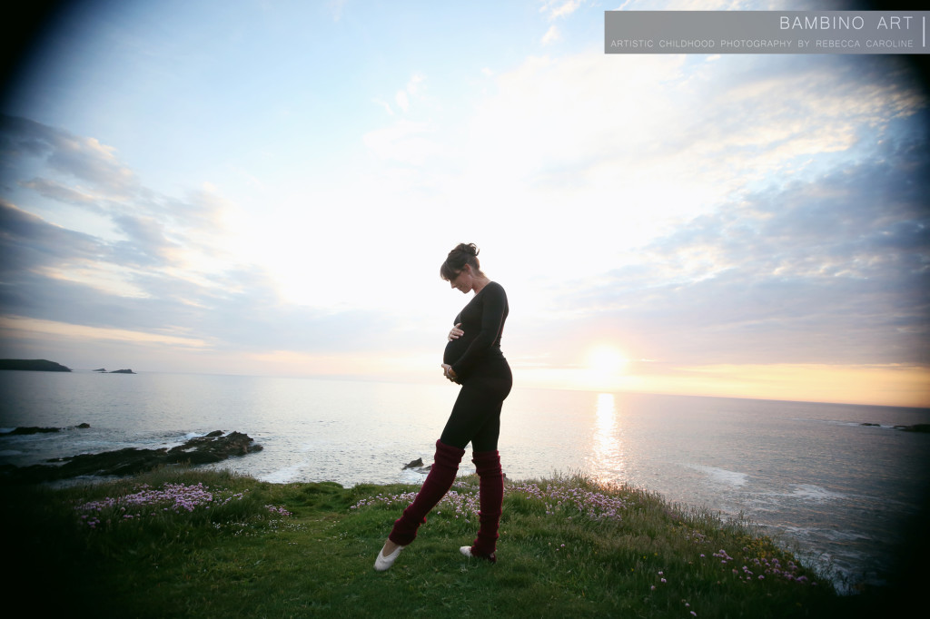 Pregnancy photographer Cornwall