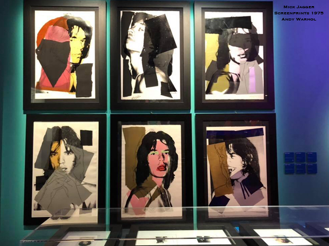 Andy Warhol, Mick Jagger, screen print. 1975