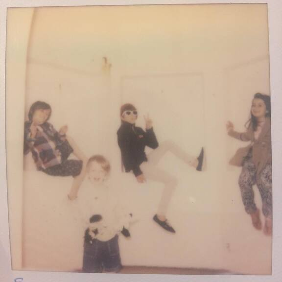 A terrible, awful, fuzzy , beautiful polaroid image 2013/4