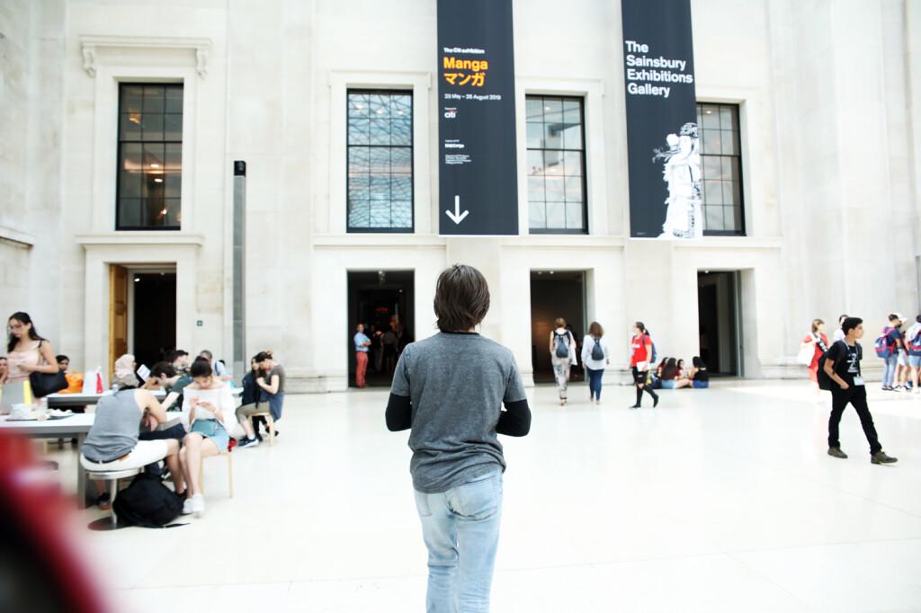 MA - WORK PROGRESS British museum Manga exhibition