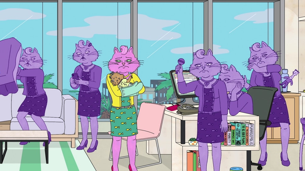 Bojack Horseman princess carolyn motherhood
