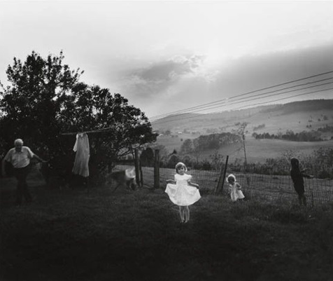 Easter dress 1986 © Sally Mann