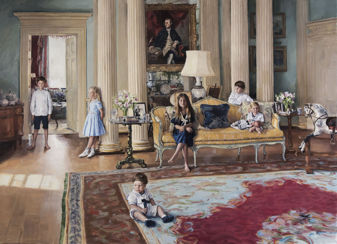 the-bamford-grandchildren-at-daylesford-house