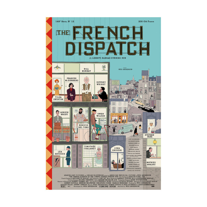Fig 1, the french dispatch