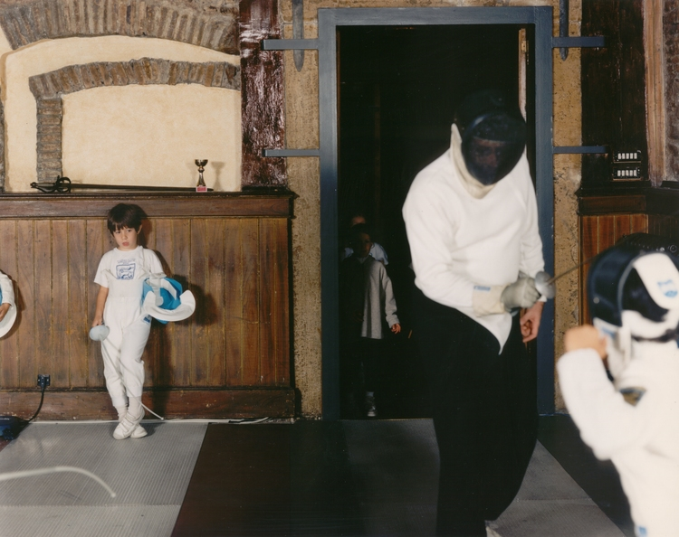 fig 4 , Barney. Tina. BAR106+1996R+The+Fencing+Lesson